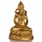 Samantabhadra  20,5 cm Buddha Statue