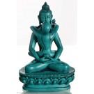 Samantabhadra 13 cm Resin Buddha Statue turquoise