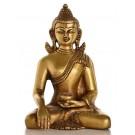 Akshobhya brass 15,5 cm Buddha Statue