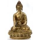 Akshobhya /Shakyamuni 33 cm Messing Buddha-Statue