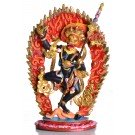 Simhamukha 19 cm fully painted