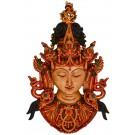 Tara Mask 43 cm Resin painted