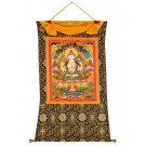 Thangka - Chenresig - Avalokitesvara 82 x 112 cm