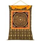 Thangka - Mandala Chenrezi Mantra 121 x152 cm