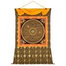 Thangka Mandala Green Tara Mantra 121 x 152 cm