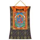 Thangka Medicine Buddha  58 x 85 cm