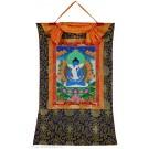 Thangka - Samantabhadra and Samantabhadri 58 x 85 cm