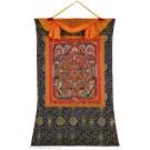 Thangka  - Mandala Buddha life 2