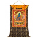Thangka Medicine Buddha 80 x114 cm 2