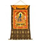 Thangka Medicine Buddha 80 x114 cm
