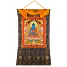 Thangka Medicine Buddha  72 x 114cm
