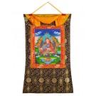 Thangka  Padmasambhava - Guru Rinpoche 72 x 112 cm 2