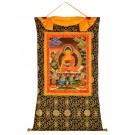 Thangka - Shakyamuni 88 x 122 cm