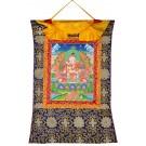 Thangka - Vajrasattva-Shakti