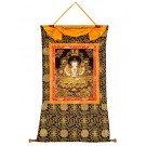 Thangka - Chenresig - Avalokitesvara handgemalt auf Leinwand
