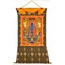 Tibetan Medicine Buddha Thangka 91 x 130 cm