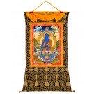 Tibetan Medicine Buddha Thangka 92 x 130 cm