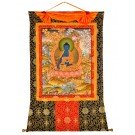 Thangka Medicine Buddha   99 x128 cm