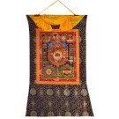 Thangka Tibetan Calendar  72 x 112 cm