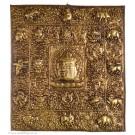Votive Tablet - Tibetan Calender 35,5 cm x 39 cm