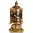 Table Prayer wheel copper - 15,5 cm 2