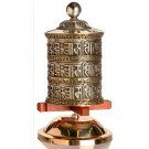 Table Prayer Wheel 18,5 cm Silver