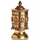 Table Prayer wheel 18 cm Tashi Tagey