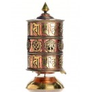 Table Prayer-Wheel 29 cm Om Mani