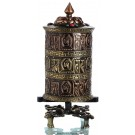 Table Prayer wheel copper - 41 cm