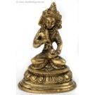 Vajrasattva - Dorje Sempa 8 cm brass