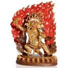 Vajrapani 30cm partly fire-gilded