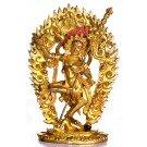 Vajravarahi 20cm fully fire-gilded
