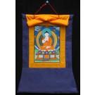 Thankga Meditation-Buddhas-Vairocana