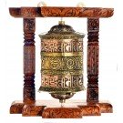 Wall Prayer wheel 20 cm Tashi Tagey