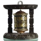 Wall Prayer wheel copper 10 cm