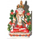 White Tara 20 cm Statue Resin white painted